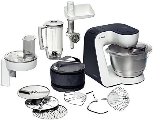Bosch MUM52131 - Robot de cocina con accesorios, color blanco y gris: Amazon.es: Hogar