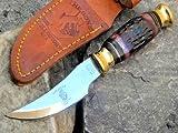 Collectors Knives Bone Collector Hunting Knife Camel Bone Handle BC792