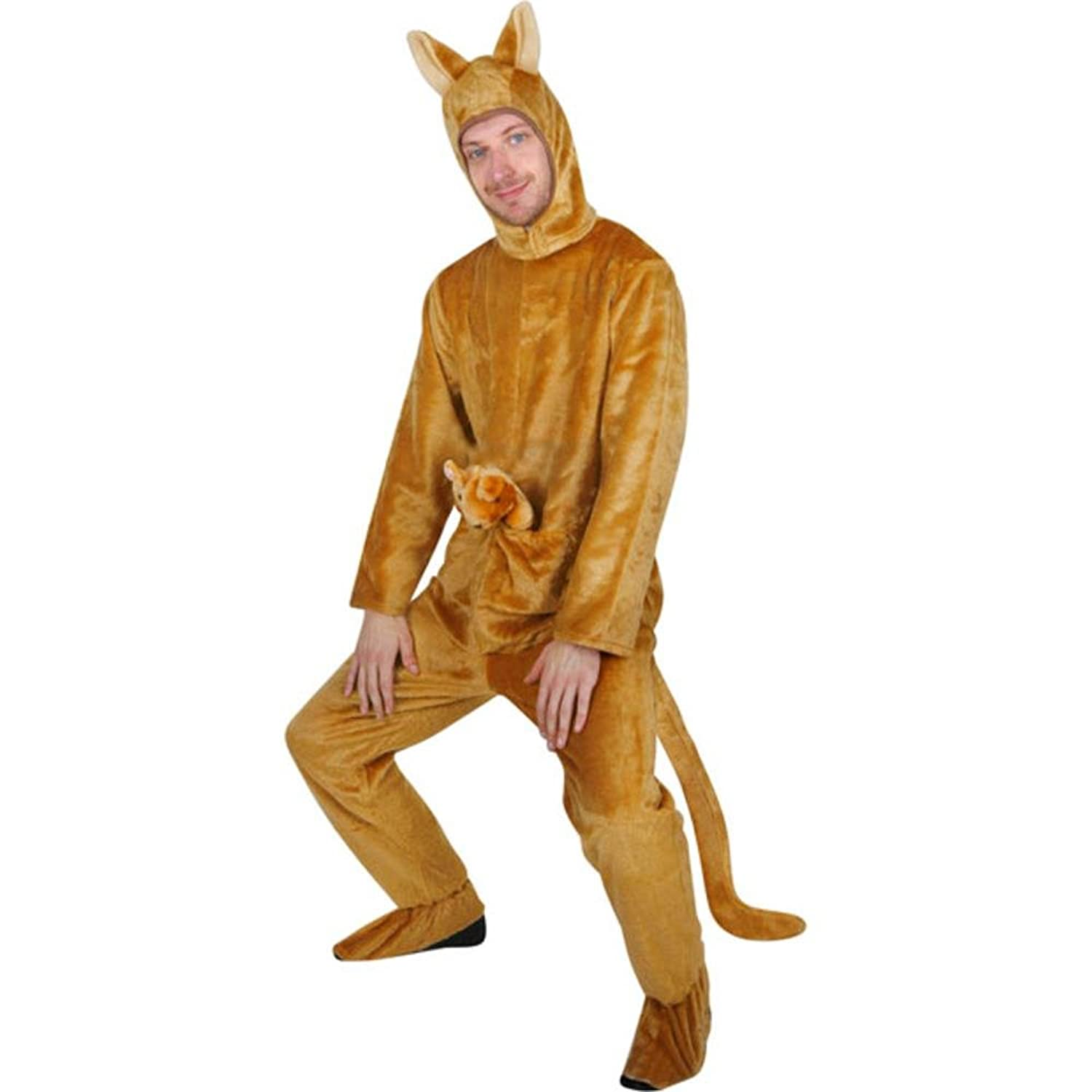 amazoncom adult kangaroo costume size adult standard clothing - Amazon Halloween Costumes Men