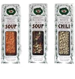 Buckeye Beans & Herbs Soup Variety of 3 : Buckeye Bean Soup, Chicken Chili And Great Leap 'N Lentil Soup - 12 Ounces Each (3 Items)
