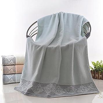 Mangeoo Puro Algodón Toalla de Baño Chaqueta y Toalla Personalizado para Hombres y Mujeres, Brown Brown, 70X140cm: Amazon.es: Hogar