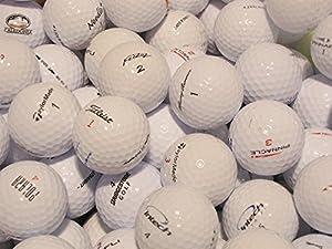 100 Golfbälle AAAA/AAA (Top-Qualität) Markenmix mit Titleist Callaway...