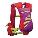 Nathan Firecatcher Hydration Vest, Purple Cactus Flower/Tangerine Tango, One Size