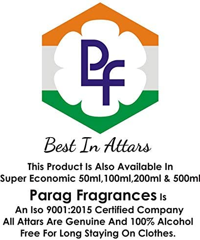 Parag Fragrances 25 ml Sport Club Attar con bottiglia vuota (senza alcool, lunga durata, Attar naturale) Disponibile anche in 50/100/200/500
