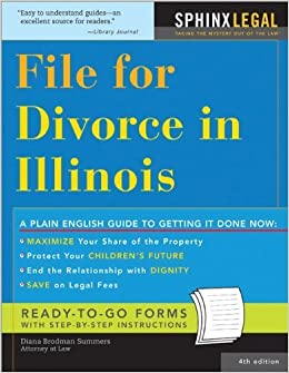 File for Divorce in Illinois (Legal Survival Guides) by Diana Summers (2006-01-01)