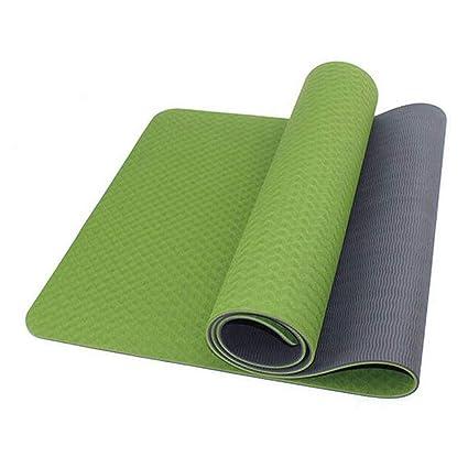 Amazon.com: HONGNA Yoga Supplies Monochrome TPE Yoga Mat ...
