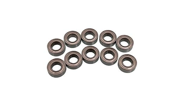 10 PCS MR84zz Mini Metal Double Shielded  Ball Bearings 4mm*8mm*3mm