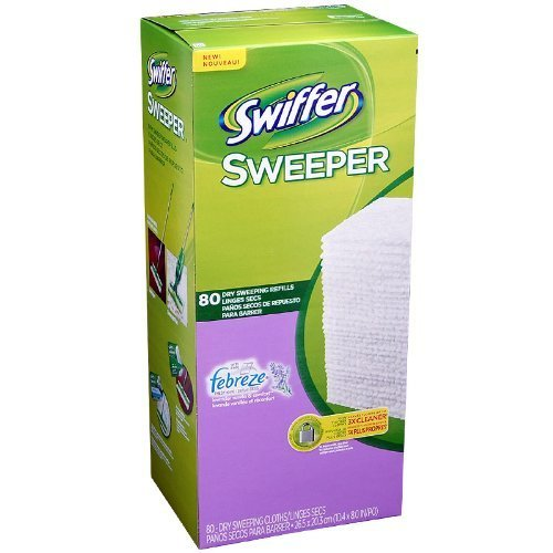 Swiffer Sweeper with FeBreze lavender vanilla 80 Dry Sweeping Refills by Naruekrit
