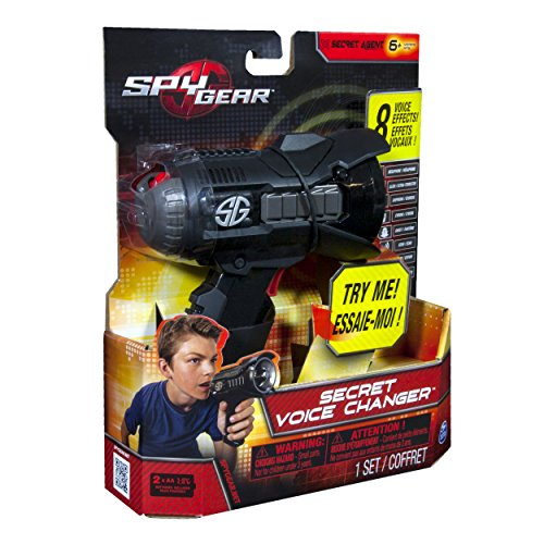 Unique Toys And Gadgets : Spy gear voice changer import it all