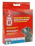 Dogit Nylon Dog Muzzle, Black, XL-XX-Large/11.8-Inch