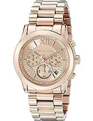 Michael Kors Womens Cooper Rose Gold-Tone Watch MK6275