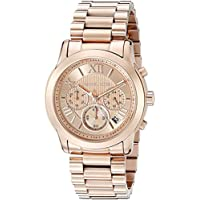 Michael Kors Women's Cooper Rose Gold-Tone Watch MK6275
