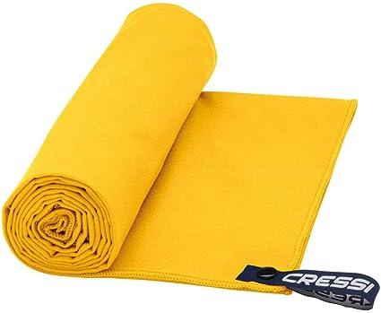 60 x 120 cm Orange Cressi Fast Drying Serviette de Sport en Microfibre Premium