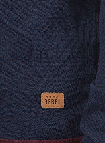 Redefined Uomo Con Maglieria In Navy Girocollo Rebel Maglione 100 Cotone Maison Da Pullover fUfYrq