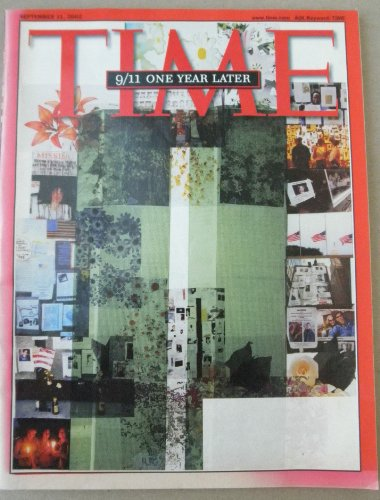 Collectible September 11, 2002 Edition of TIME Magazine - 9/11 One Year Later