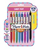 Paper Mate InkJoy 300RT Ballpoint Pens, Medium Point, Candy Pop Colors, 8 Count