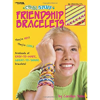 Cool Stuff Friendship Bracelets (Leisure Arts #1871): Leisure Arts: Arts, Crafts & Sewing