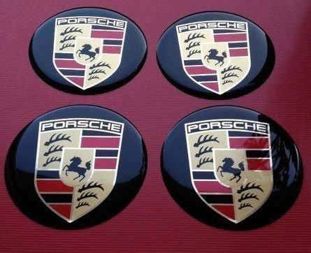 Porsche Pegatinas para buje Tapa en aluminio Llantas y Tapacubos 65 mm: Amazon.es: Coche y moto