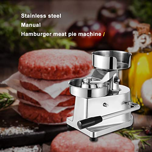 Hamburger Patty Maker,Commercial Hamburger Press Patty Maker Machine Garden BBQ Tools Sandwich Makers Panini Presses for Grilling Meat Seafood Vegetarian Patties by GOLDEN ELEPHANT (Image #5)