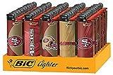 Bic Lighter 3'' Pro Series Nfl San Francisco 49Ers