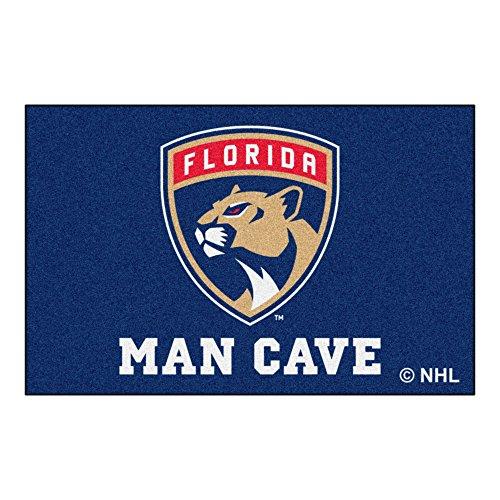FANMATS 14434 NHL Florida Panthers Nylon Universal Man Cave Starter - Starter Rug Florida