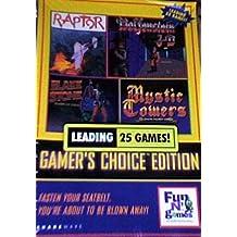 Gamer's Choice Edition Shareware: 25 Great Games (includes Wolfenstein 3D, Duke Nukem, Blake Stone, Eternam, Mystic Towers, Raptor, and more!)