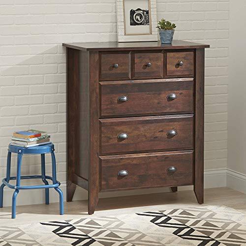Leighton 4-Drawer Dresser, Rustic Cherry Finish + Expert Guide ()