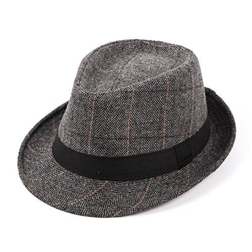 sombreros negro man media edad Sombreros otoño Sombreros Hat invierno beanie Grey MASTER Halloween Navidad CAP qFOwBBSAE