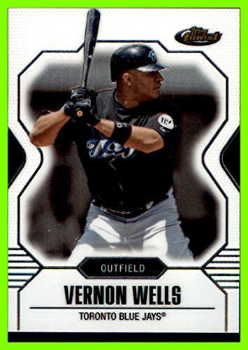 2007 Finest #83 Vernon Wells toronto blue jays