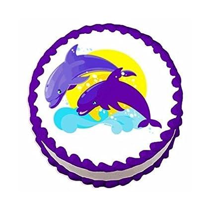 Amazon Dolphin Edible Cake Cupcake Topper Toys Games