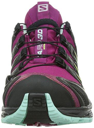 Salomon Xa Pro 3d Gtx Damen Traillaufschuhe Violett (mistico Viola / Nero / Blu Igloo)