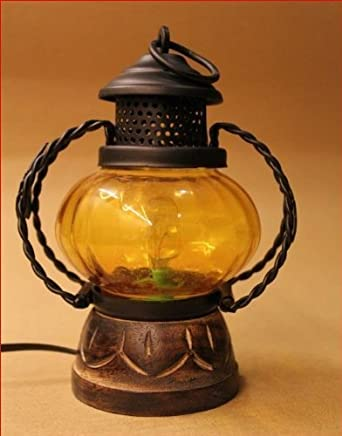 Craft Kings Electric lamp Holder Home décor Decorative Table lamp Hanging Lantern Stand Tea Light Gift Item