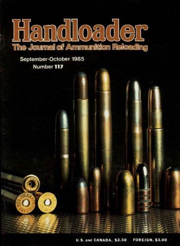 Handloader Magazine - September 1985 - Issue Number 117