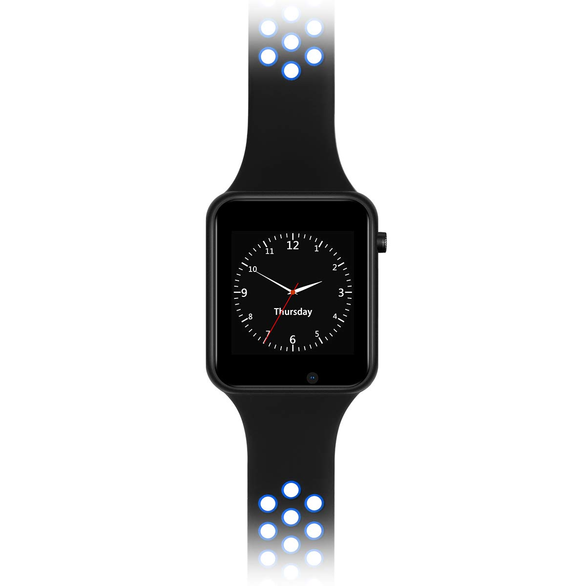 Smart Watches, IOQSOF Touchscreen Bluetooth Smart Watch with Camera, Android Smartwatch, Waterproof Smart Watches Compatible Samsung iOS iPhone X 8 7 ...