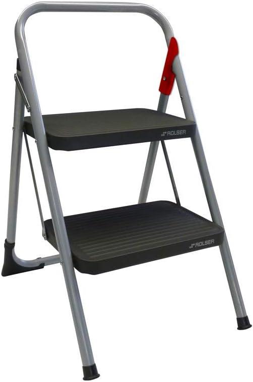 Rolser MET003 / M-10 Escalera plegable: Amazon.es: Bricolaje y herramientas