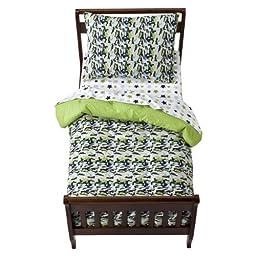 Camo Air 4 pc Toddler Bedding Set