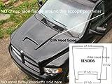 Dodge Ram Rumble Bee Hood Scoop Kit OE Dimension. FITS 2002-2008 1500 & 2003-2009 2500/3500 UNPAINTED #HS006