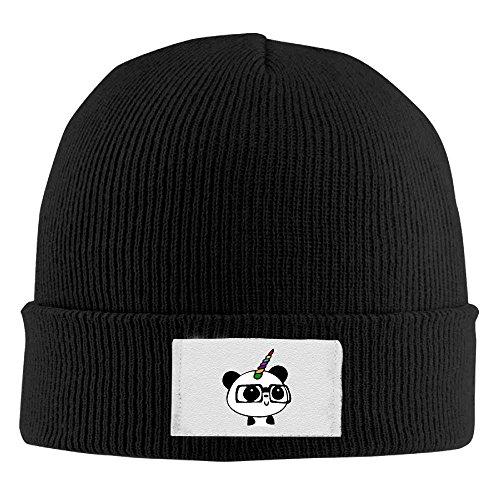 Skull Unisex Beanie Panda Nerd Gorras béisbol Acrylic Knit Unicorn longkouishilong Hat Warm Cap PwB6qax
