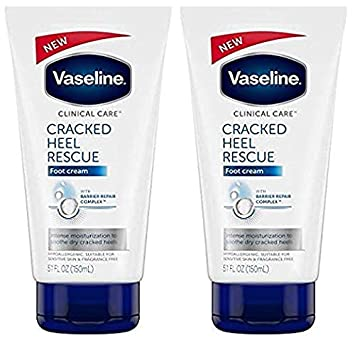 NEW Clinical Care Cracked Heel Rescue Foot Cream 5.1oz – 2-PACK