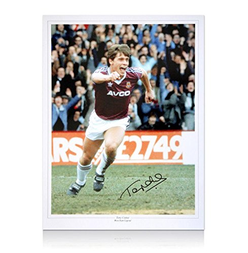 tony-cottee-signed-west-ham-photo-autograph-autographed-soccer-photos