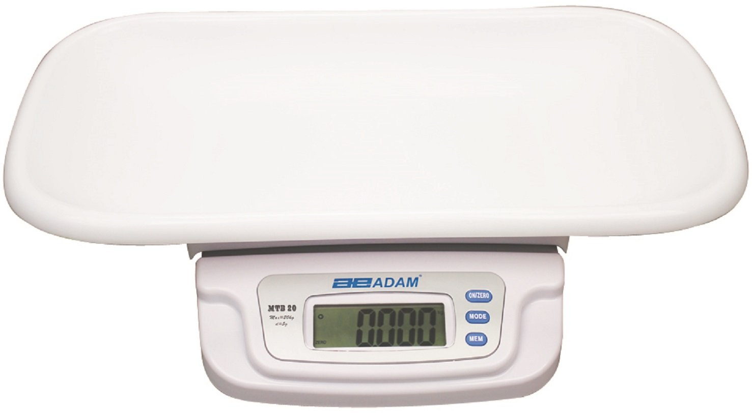 20 kg Capacity Adam AMMTB2072344L MTB Baby and Toddler Scale