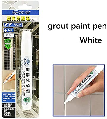 Marcador//Rotulador Blanqueador Para Juntas Color Blanco