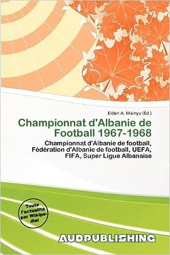 eBookStore: Championnat D'Albanie de Football 1967-1968 PDF MOBI