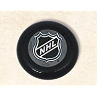 Amscan Sports & Tailgating NHL Party NHL Ice Time! Mini Flying Disc (10 Pack), Black/White, 11 x 5.3