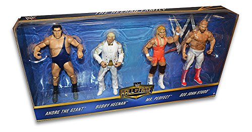WWE Hall of Fame Exclusive 4-Pack Set / Heenan Family / Andre The Giant, Bobby, Mr Perfect, Big John Studd by Mattel by Mattel