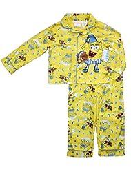 Spongebob Squarepants Little Boys Long Sleeve Coat Pajama Set