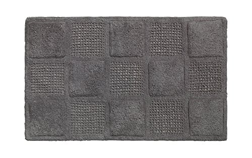 American crafts Waffle Weave 100% Cotton Bath Mat - 21