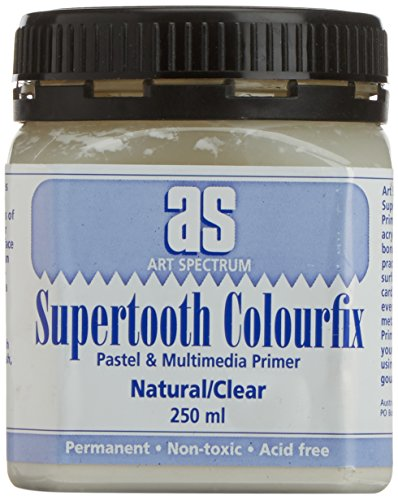 Colourfix Pastel Primer - Art Spectrum Colourfix Sanded Pastel Ground - Supertooth Primer 250ml Jar