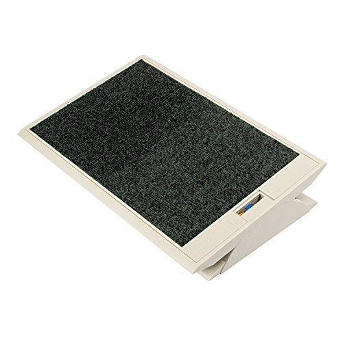 Eldon 4603 Footease Adjustable Footrest, Platinum, 19w x13d