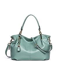 BOSTANTEN Leather Handbags Tote Shoulder Crossbody Bags for Women